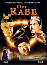 Mediabook the Raven - Duel of Magician Karloff Vincent Price Blu-Ray + DVD Box