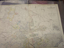 Germany NW +NE Western suppl.TO maps of Prussia-AustriaDispach AtlasFramed40more