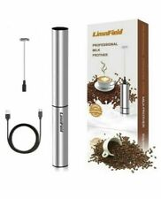 LinsnField Electric USB Rechargeable Milk Coffee Frothers Complete Set