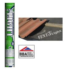 Cromar Vent 3 Light Breathable Membrane Roof Felt 1m x 50m Roll Roofing Felt
