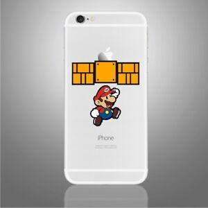 Super Mario Brothers Sticker for PHONE, iPhone X, 6,6Plus,6s,6sPlus, 7,7Plus,8