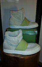 Puma El Roo Mid Sneaker Faux Fur Corduroy Moc Toe Boot Sneakers Women's US 9.5