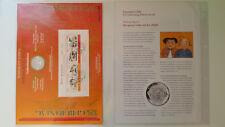 Numisblatt 3/2007 Wilhelm Busch 10 € euros 925er plata conmemorativa 3 07