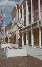 Bowling Green KY~Antique Street Clock~Bank~Nerman's~Cafe~State Street~1960s