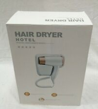 Wall Mounted Hotel Hairdryer With 2 X USB Socket In Box Working White #206