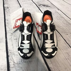 Cycling Shoes Luck White & Black Brand New UK 40