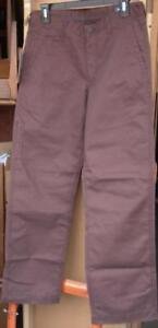 Haggar Life Khaki Utility Pants - Various Sizes - Wine Color - BRAND NEW w/TAGS