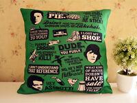 SPN Supernatural Dean Sam Winchester Cas Pillow Cushion Bolster Home Decor Gift