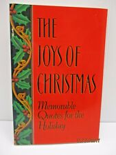 The Joys of Christmas: Memorable Quotes For The Holiday by Nelson R. Wilson