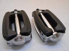 """Vintage BICYCLE BOW PEDALS FIT SCHWINN MURRAY SEARS ROADMASTER 1/2"""""""