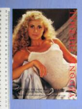 1980s VEDONIS THERMAL UNDERWEAR SALES BOOKLET 8 SIDES 21 X 14.5 CM MEN & WOMEN