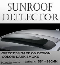 """Top Wind Deflector Sunroof Moon Roof Visor FRacing Style 980mm 38.5"""" Inches Z32"""