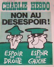 CHARLIE HEBDO No 343 JUIN 1977 REISER NON AU DESESPOIR !