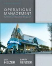 Operations Management by Barry Render and Jay Heizer (2013, Hardcover, 11th...