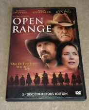 Open Range DVD 2-Disc Set Collector's Edition Wide-screen Kevin Costner Duvall