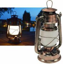 LED Camping Laterne im Retro Stil Petroleum Sturmlaterne - Metall Outdoor Lampe