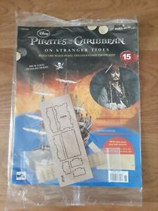 Hachette Pirates of the Caribbean Build the Black Pearl Pirate Ship issue 15