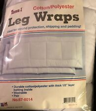 Leg Wrap Deluxe Pillow Tough New Horse Tack Washable 1/2� Layer Pair