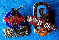 SURFERS PARADISE SURFBOARD BEACH CLUB & US LONGBOARD 1994 Hard Rock Cafe 2 PINS