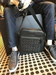 Coach Houston Men's Flight Bag in Debossed C f73338