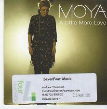 (EB208) Moya, A Little More Love - 2013 DJ CD
