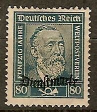 Germany 1924, Official Stamps, Stephan -  MNH  Scott no. O62