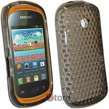 Cover Case for Samsung Galaxy Music S6010/S6012 Black TPU Gel Silicone