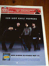 RED HOT CHILI PEPPERS - AUSTRALIAN ARIA CHART  2006 AS NEW