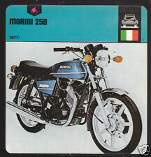 1977-1978 MOTO MORINI 250 cc Motorcycle Picture CARD