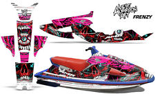 AMR Racing Yamaha Wave Raider Jet Ski Decals Graphics Kit Wrap 94-96 FRENZY RED
