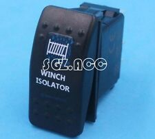 WINCH ISOLATOR Carling ARB Narva Style Rocker Switch Blue LED Boat Marine 12/24V
