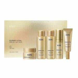 [IOPE] Super Vital Special Gift Rich (5 items) Korea Cosmetic