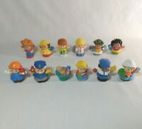 Fisher Price Little People Toy Figures Lot of 12 Assortment from 2000 - 2016