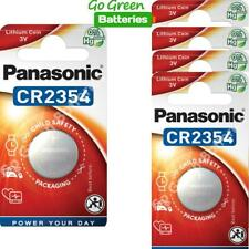5 x Panasonic CR2354 3V Lithium Coin Cell Battery 2354, DL2354, BR2354, 2028 EXP