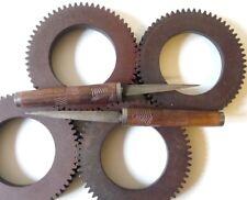 Ancien double couteau Malgache Antique Malagasy double knife
