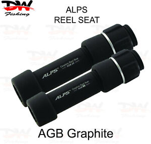 ALPS AGB Quality Graphite Reel Seat, High Modulus Graphite Spin Reel Seat