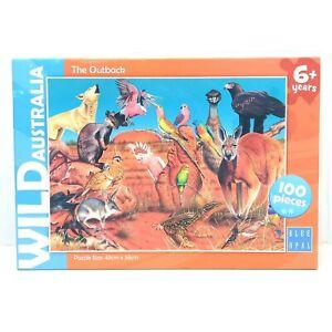 Blue Opal Wild Australia The Outback Jigsaw Puzzle 100pc LIKE NEW