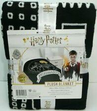 "Harry Potter Hogwarts Super Soft Plush Blanket 60""x90"" - Nwt"