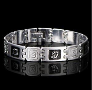 Armkette 925 Sterling Silber versilbert Designer Armband Arm Schmuck Herren dick