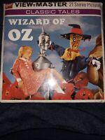 NEW & SEALED Vintage 1957 GAF View-Master WIZARD OF OZ 3 Reels