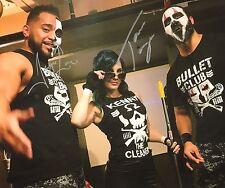 Tama Tonga & Roa Loa Signed 11x14 Photo New Japan Pro Wrestling GOD Bullet Club