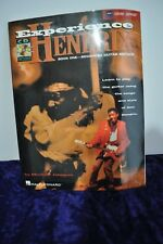 Jimi Hendrix Experience Collection Hal Leonard songs and style music Tab CD
