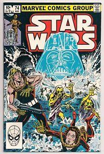 STAR WARS # 74 MARVEL COMICS 1983 HIGHER GRADE COPY!!  NM GLOSSY, CLEAN & BRIGHT