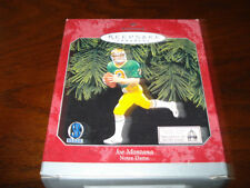 1998 Joe Montana Hallmark Xmas Ornament