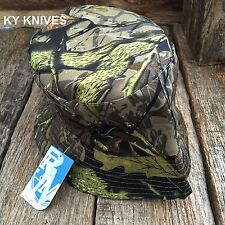 Outback Safari Bucket Flap Boonie Hat Fishing Outdoor NEW HT-863  DARK GN CAMO-W