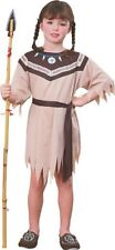 Girls native American Princess Dress Costume Halloween Party Indian Size Small