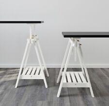 *NEW* X 2 Height AdjustableFINNVARD TRESTLE TABLE Wooden Stand Legs
