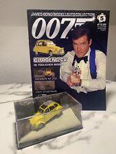 "James-Bond Modellauto-Collection Nr. 05 ( 5 ) Citroën 2CV ""Ente"" mit Heft"