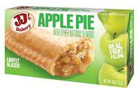 2 JJ's Bakery Lightly Glazed Apple Pies 4 oz ONE FREE PIE WITH PURCHASE!!!