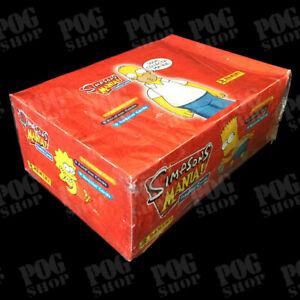 Panini SIMPSONS MANIA! Trading Cards - Fully Sealed Box - Ultra Rare - POG SHOP
